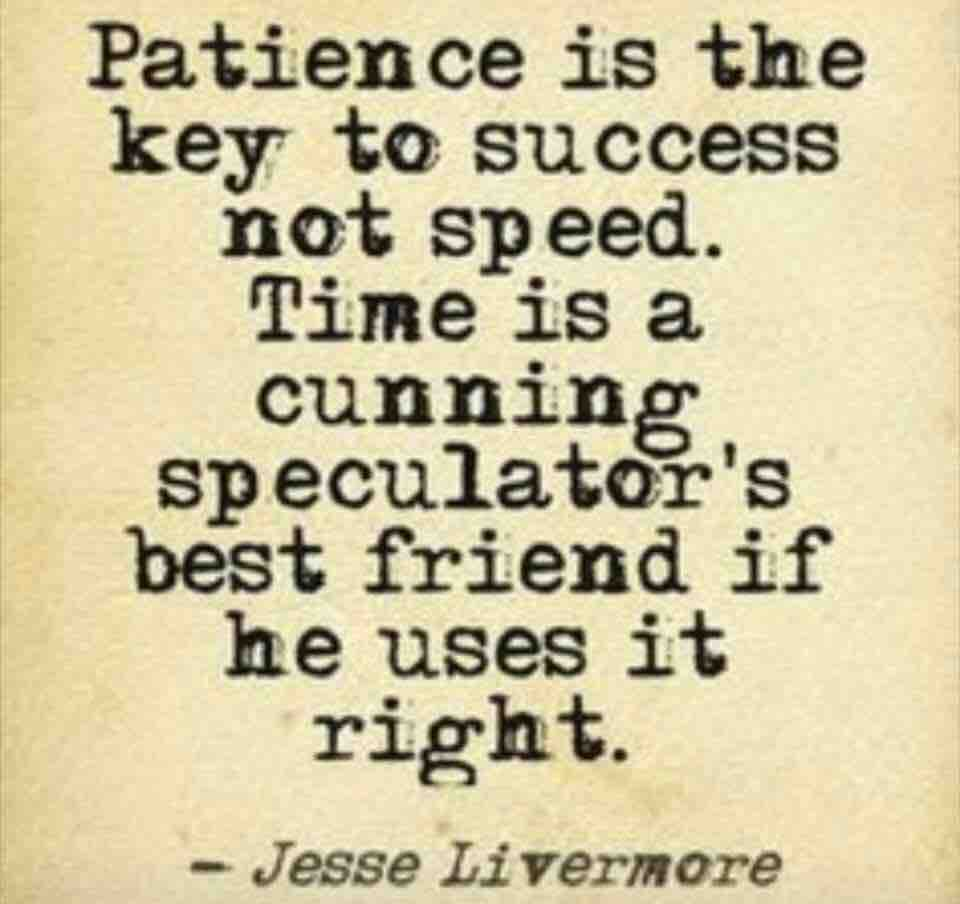 patience is the key to success essay